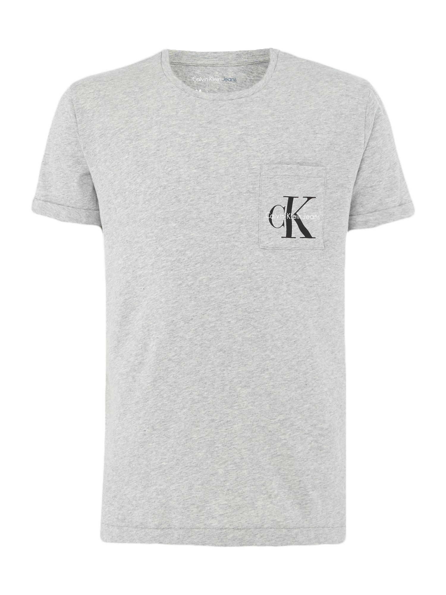 Men's Calvin Klein Bolan True Icon T-shirt, Light Grey