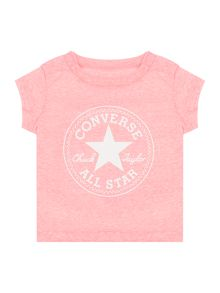 Converse Baby Girls Chuck Patch Marl T-Shirt