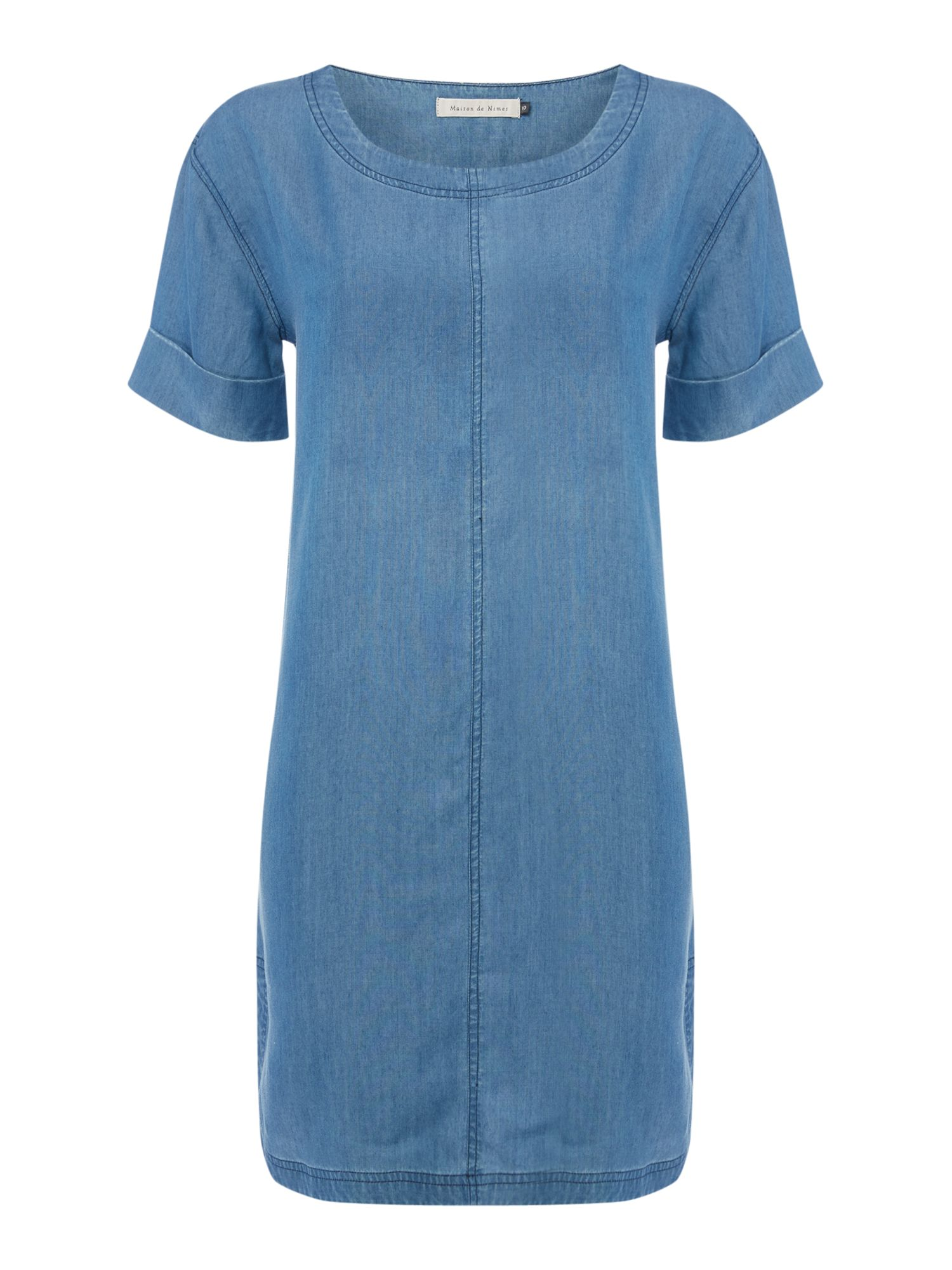 Maison De Nimes Denim t-shirt dress, Blue