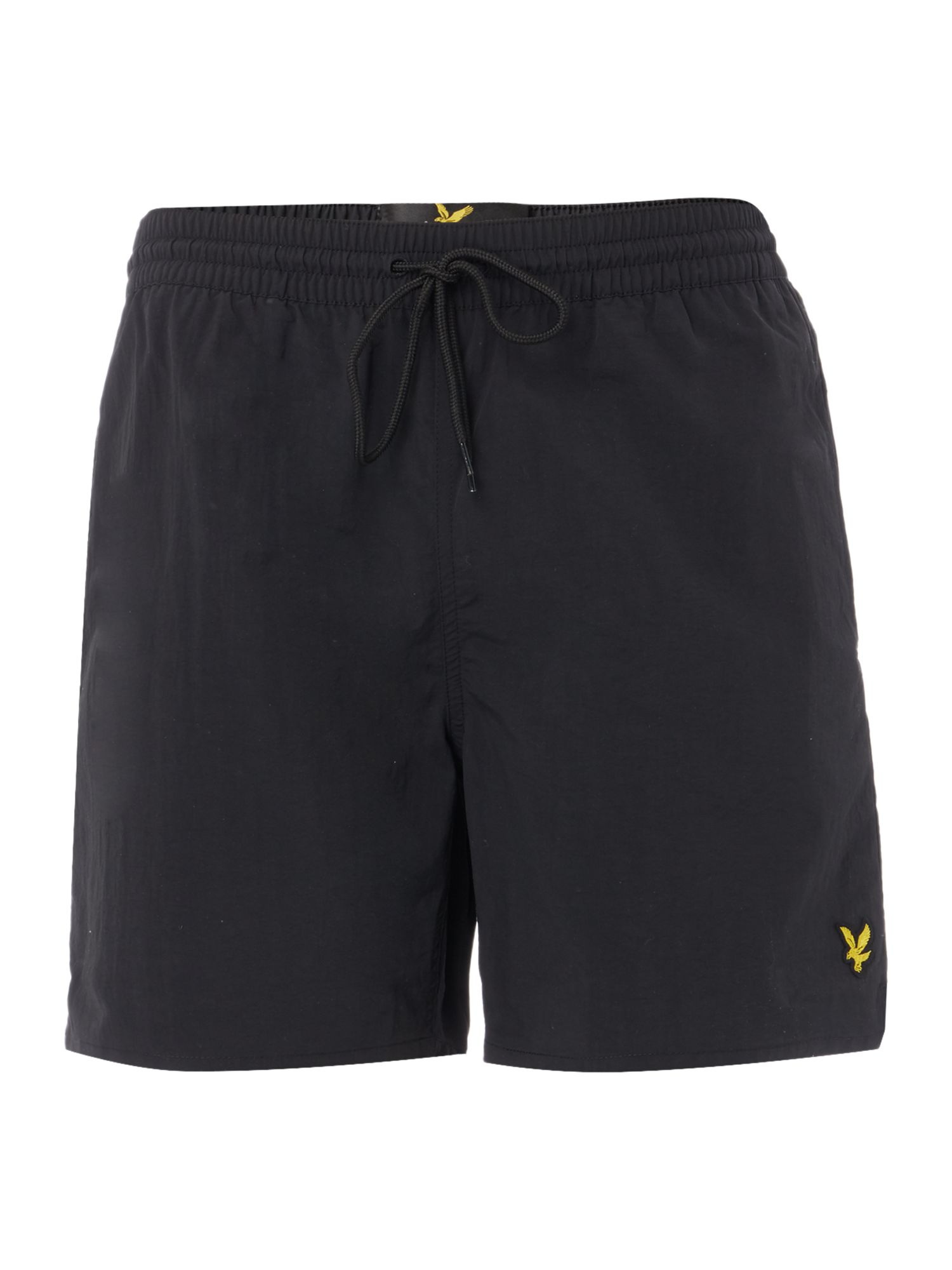 Men's Lyle and Scott Classic Plain Logo Short, Black