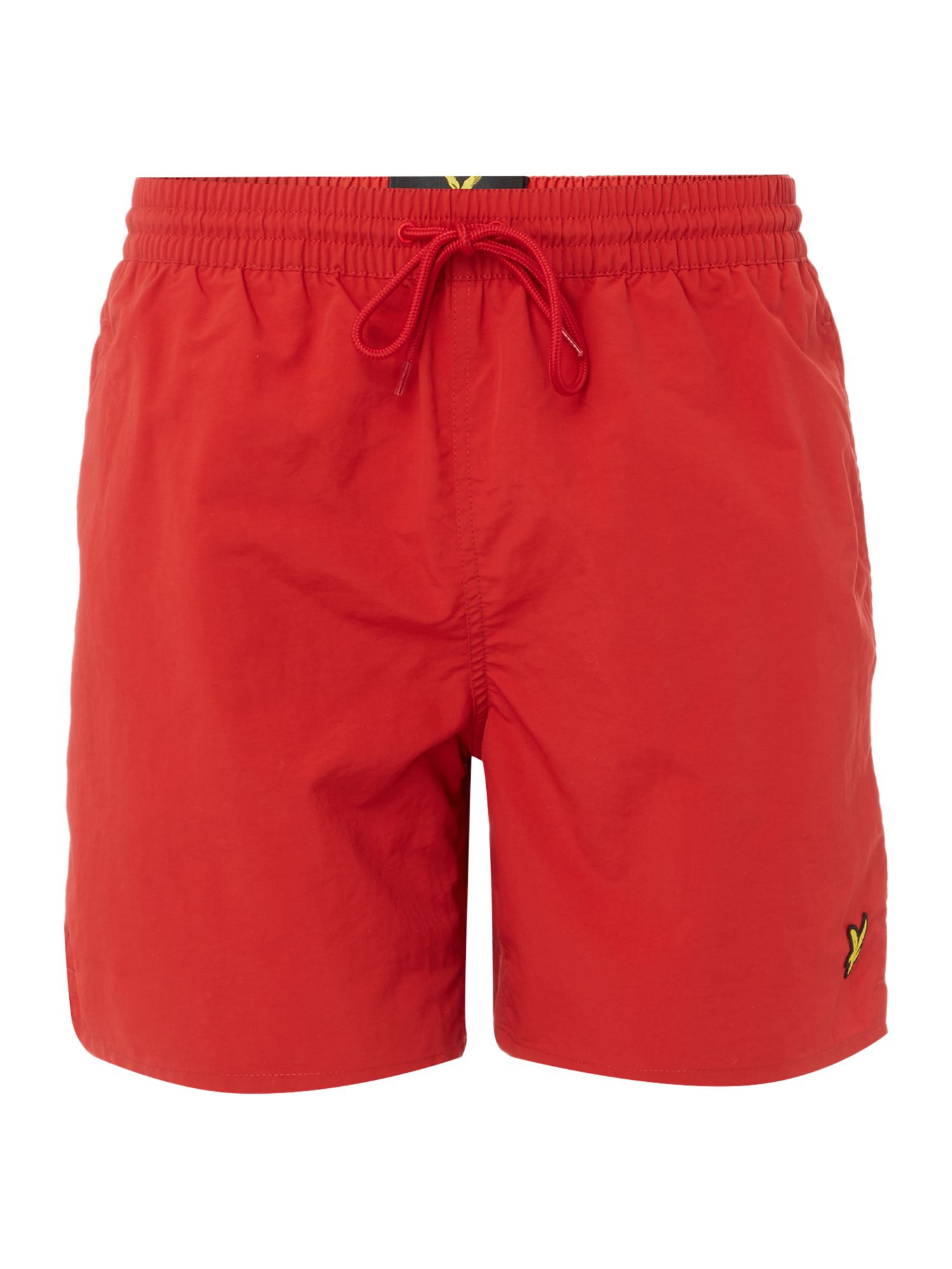 Men's Lyle and Scott Classic Plain Logo Short, Red