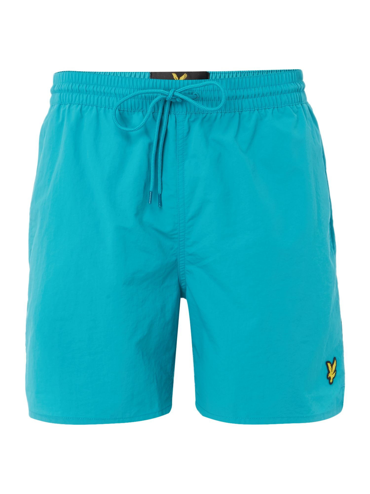 Men's Lyle and Scott Classic Plain Logo Short, Aqua