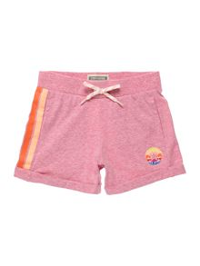 Converse Girls Jersey Marl Side Stripe Shorts