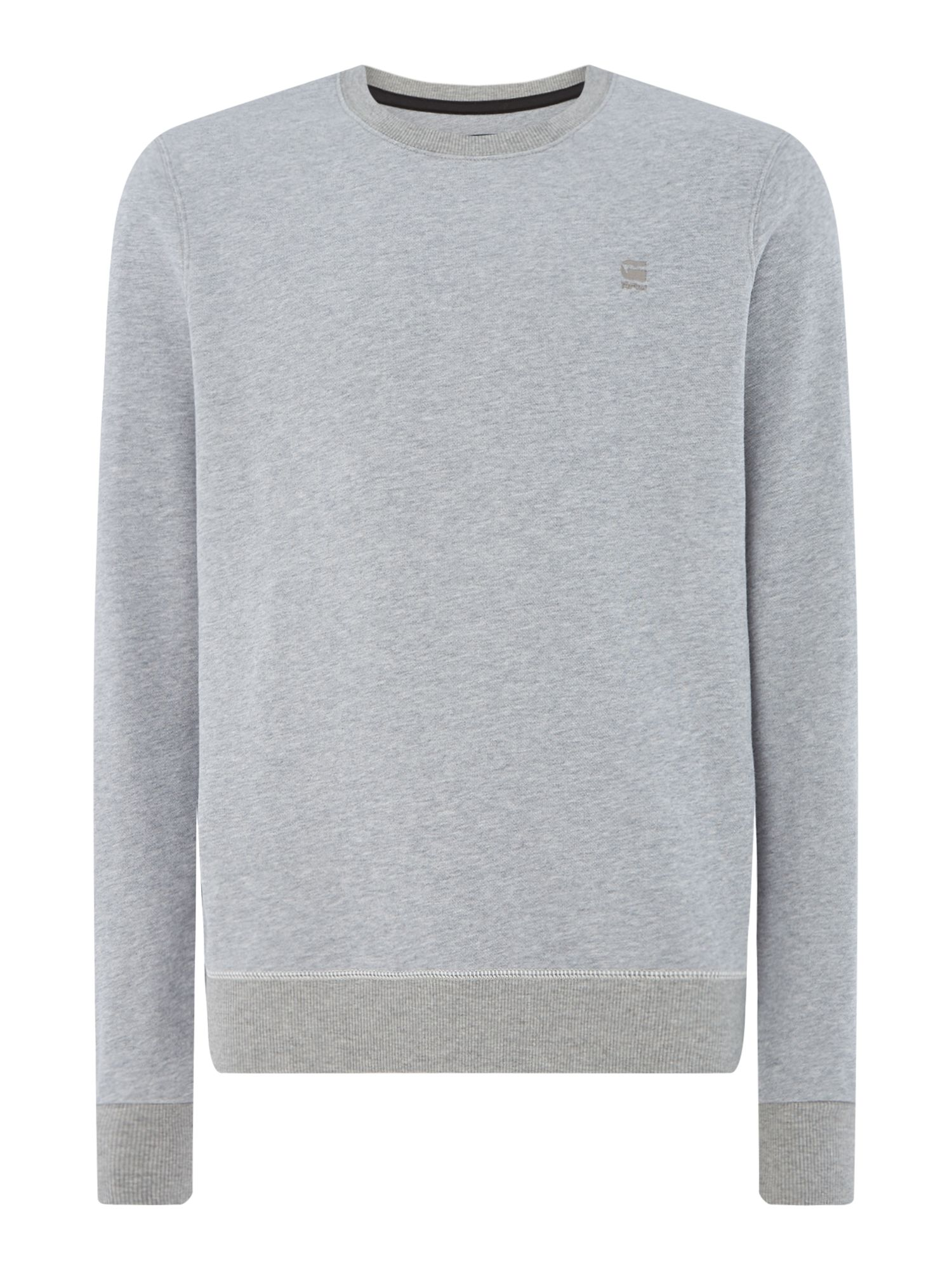 Men's G-Star Sherland long sleeve sweat, Grey