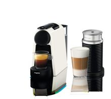 Magimix Essenza & Aeroccino Mini Nespresso Machine White
