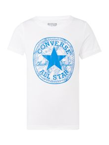 Converse Boys Big Chuck Logo T-Shirt