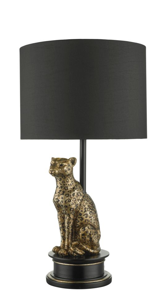 Biba Leopard Table Lamp