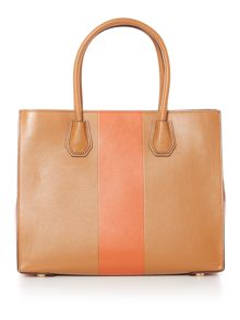 Michael Kors Centre stripe mercer tote bag