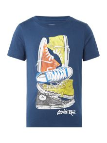 Converse Boys Stack of Chucks T-Shirt