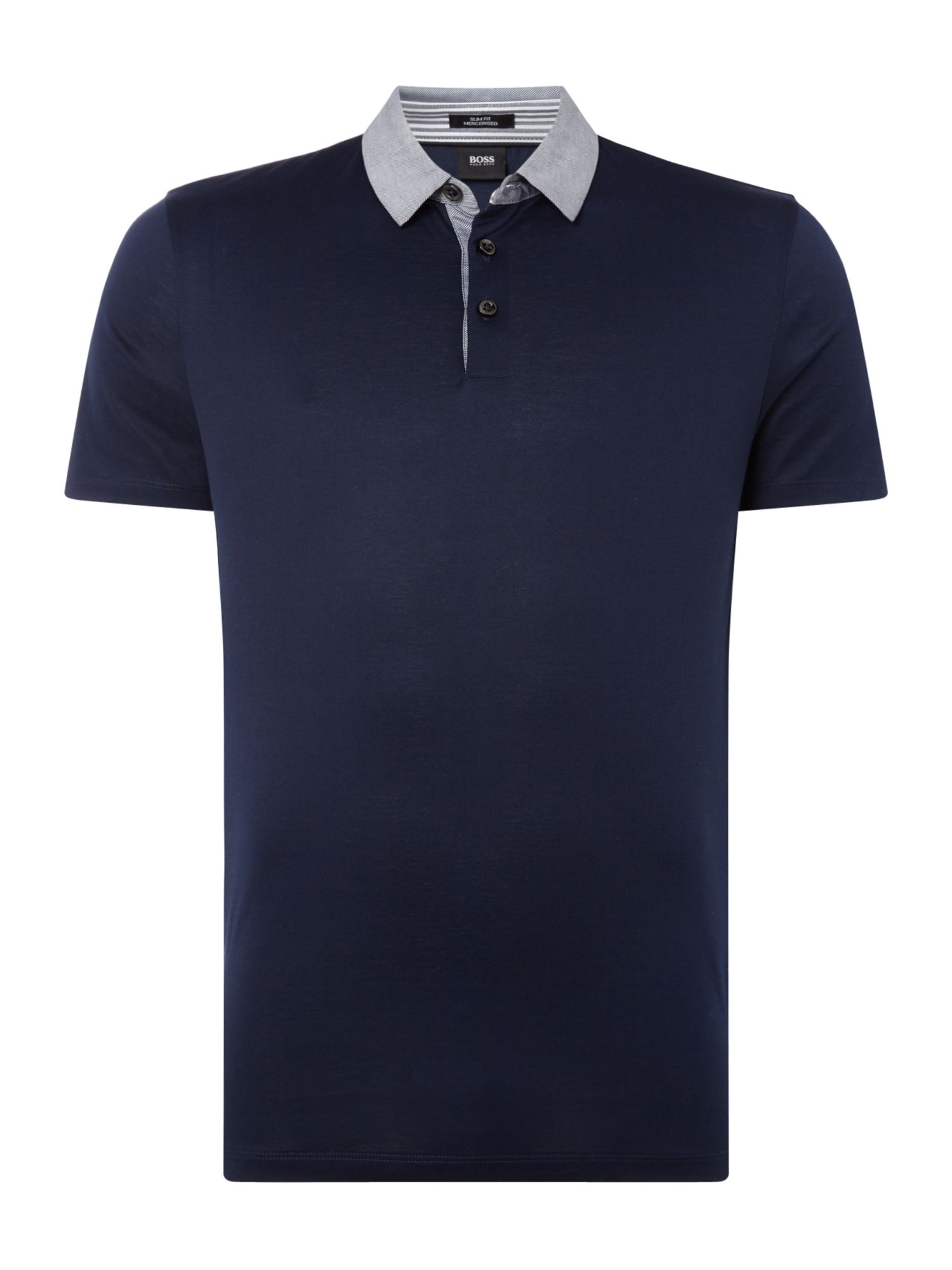 Men's Hugo Boss Mercesired Slim Fit Polo Shirt, Blue