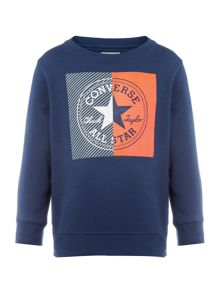 Converse Boys Colour Block Sweatshirt