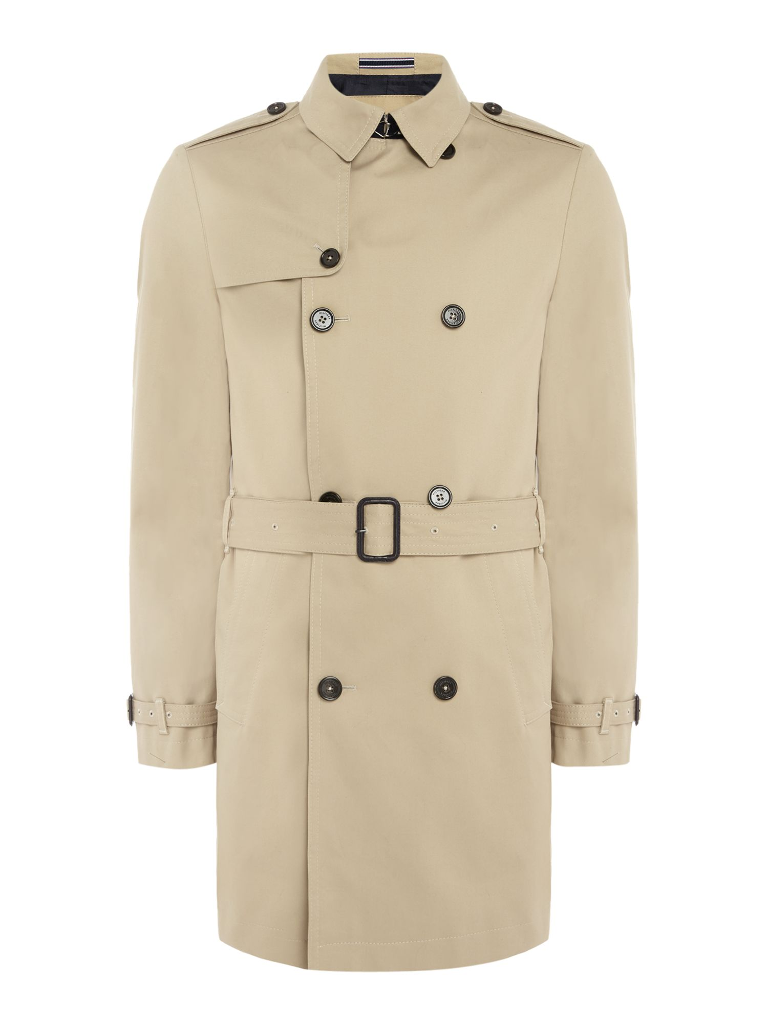 Mens Tommy Hilfiger SMITH TRENCH COAT Beige