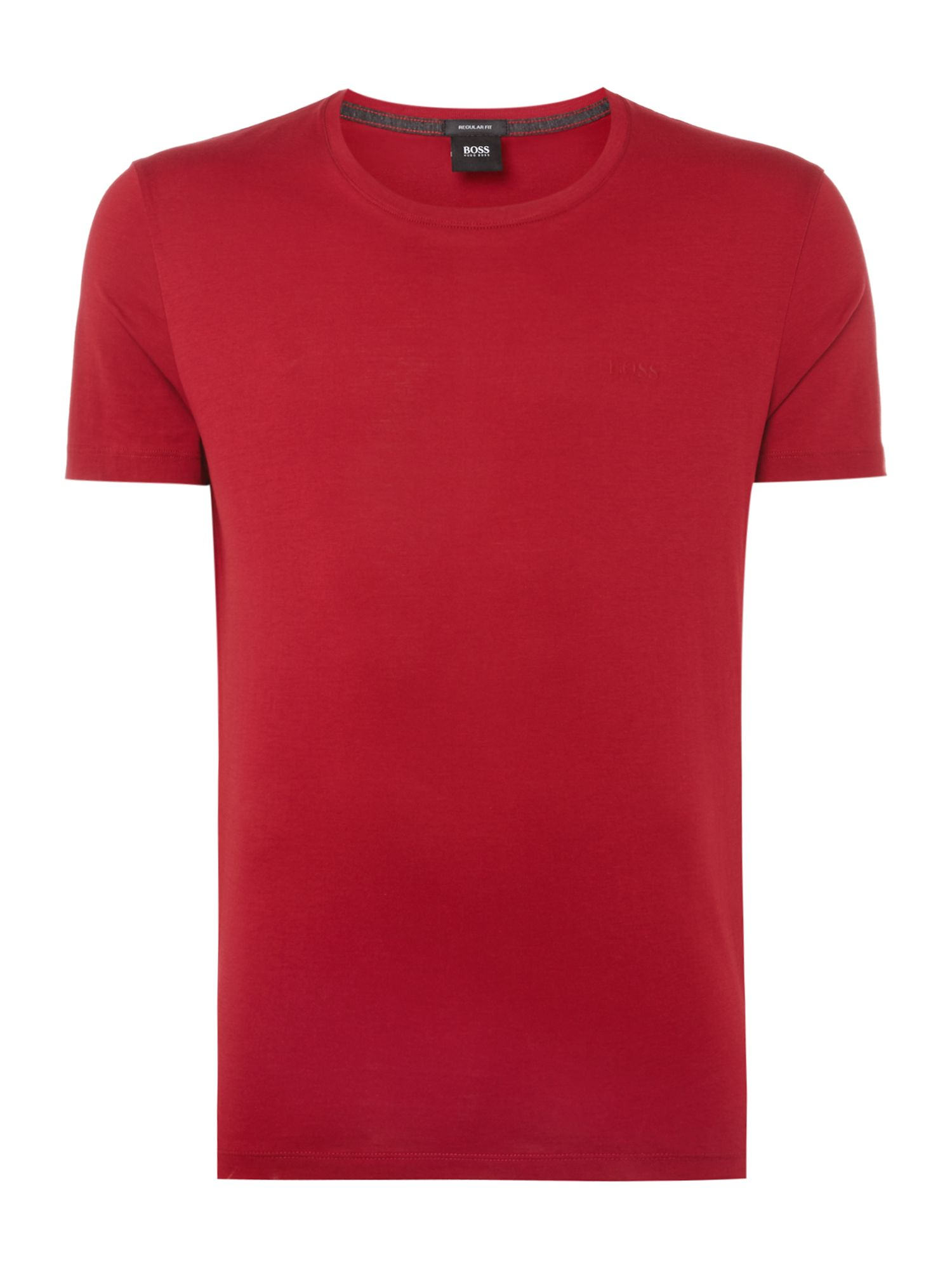 Men's Hugo Boss Logo Regular Fit T-Shirt, Red