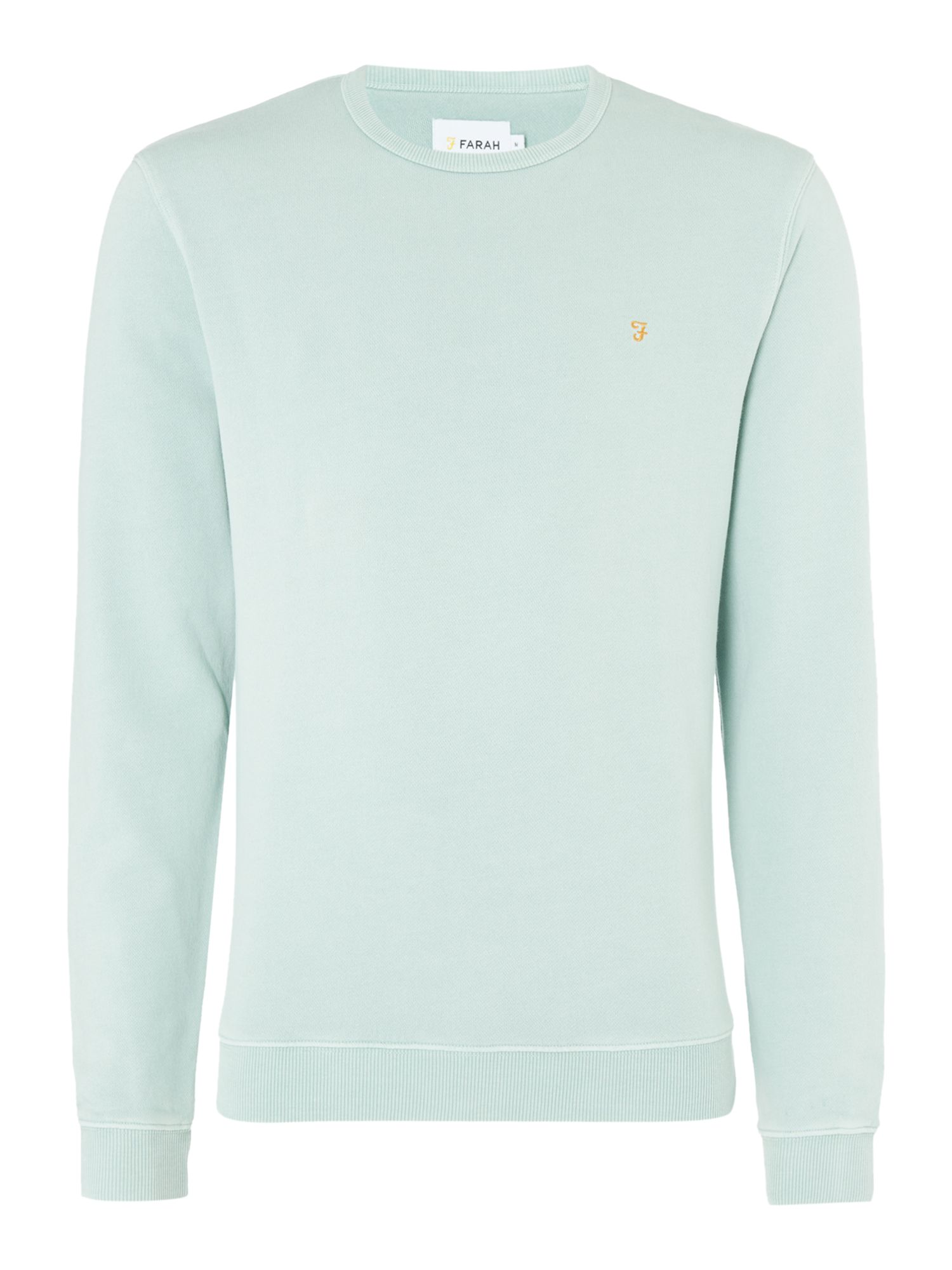 Men's Farah Pickwell Slim Fit Sweatshirt, Mint