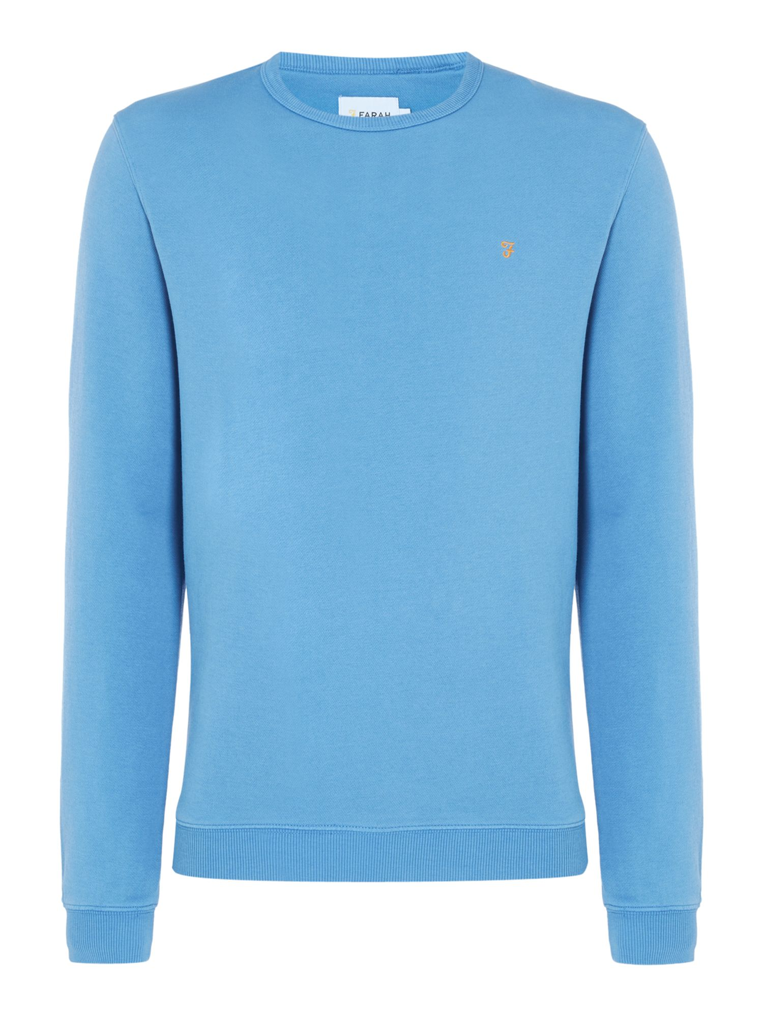 Men's Farah Pickwell Slim Fit Sweatshirt, Blue