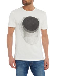 Label Lab Overlaying Block Graphic Print T-Shirt