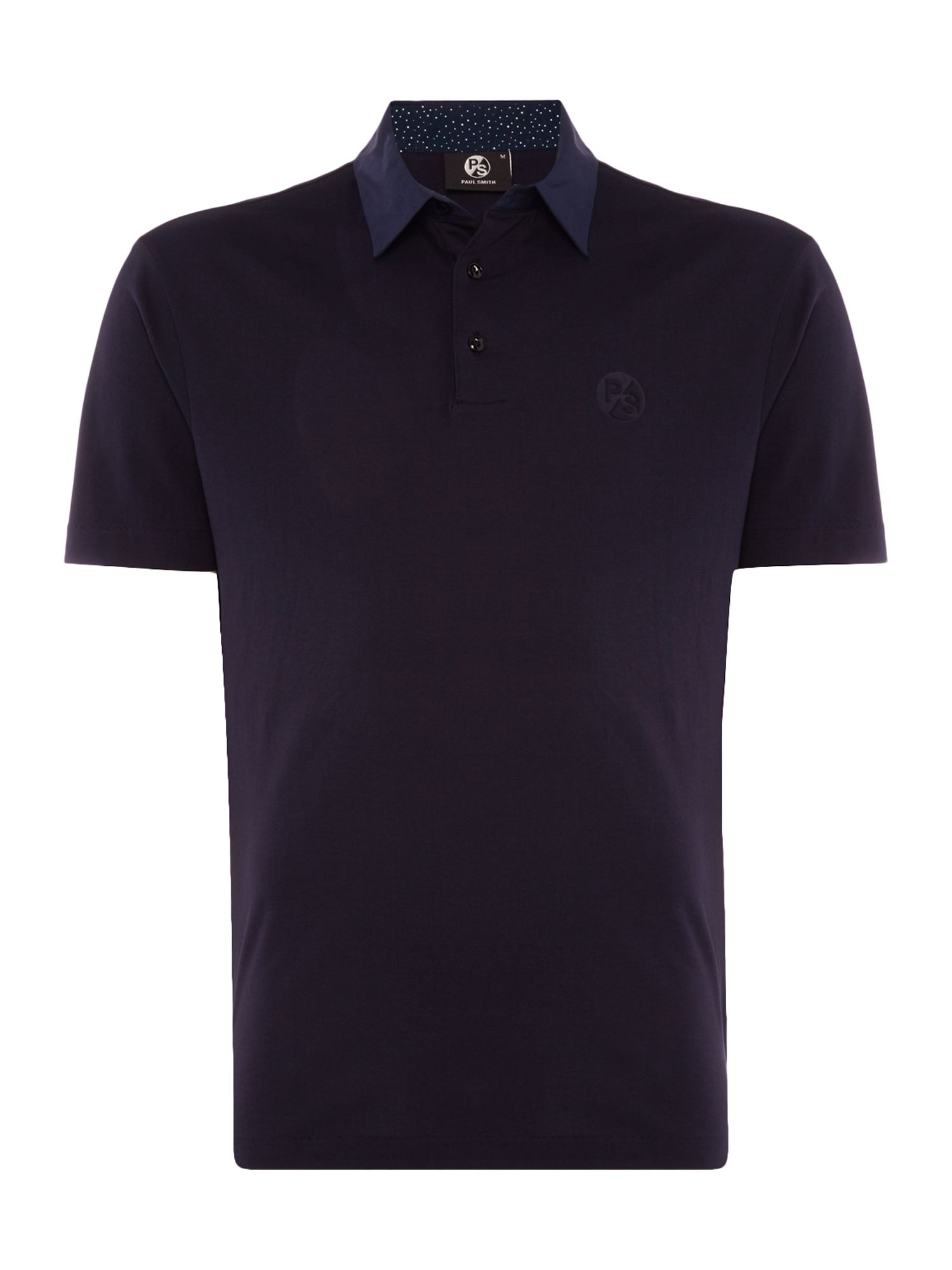 Men's PS By Paul Smith Pima cotton polo, Blue