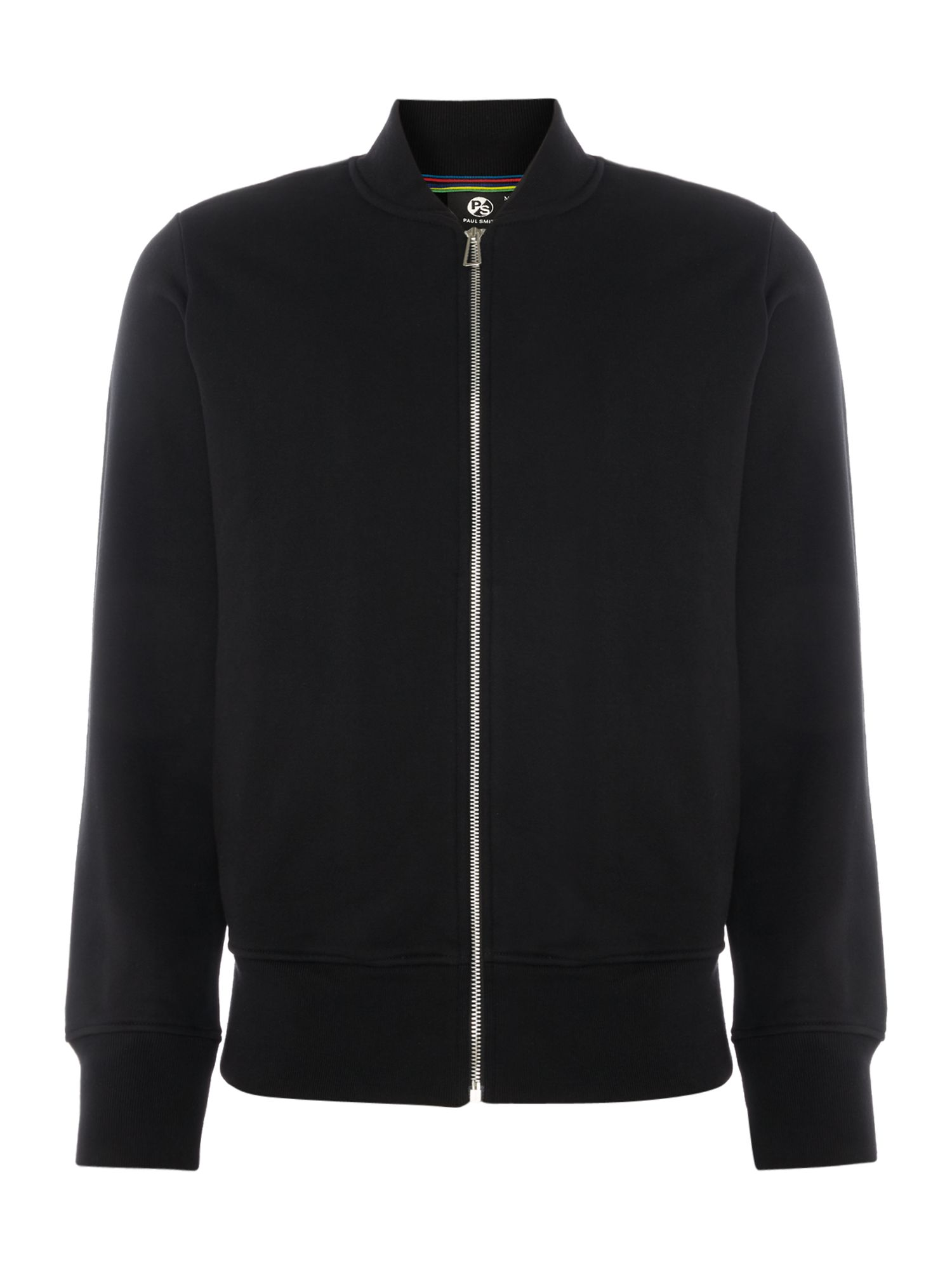 Men's PS By Paul Smith Zip thru bomber, Black