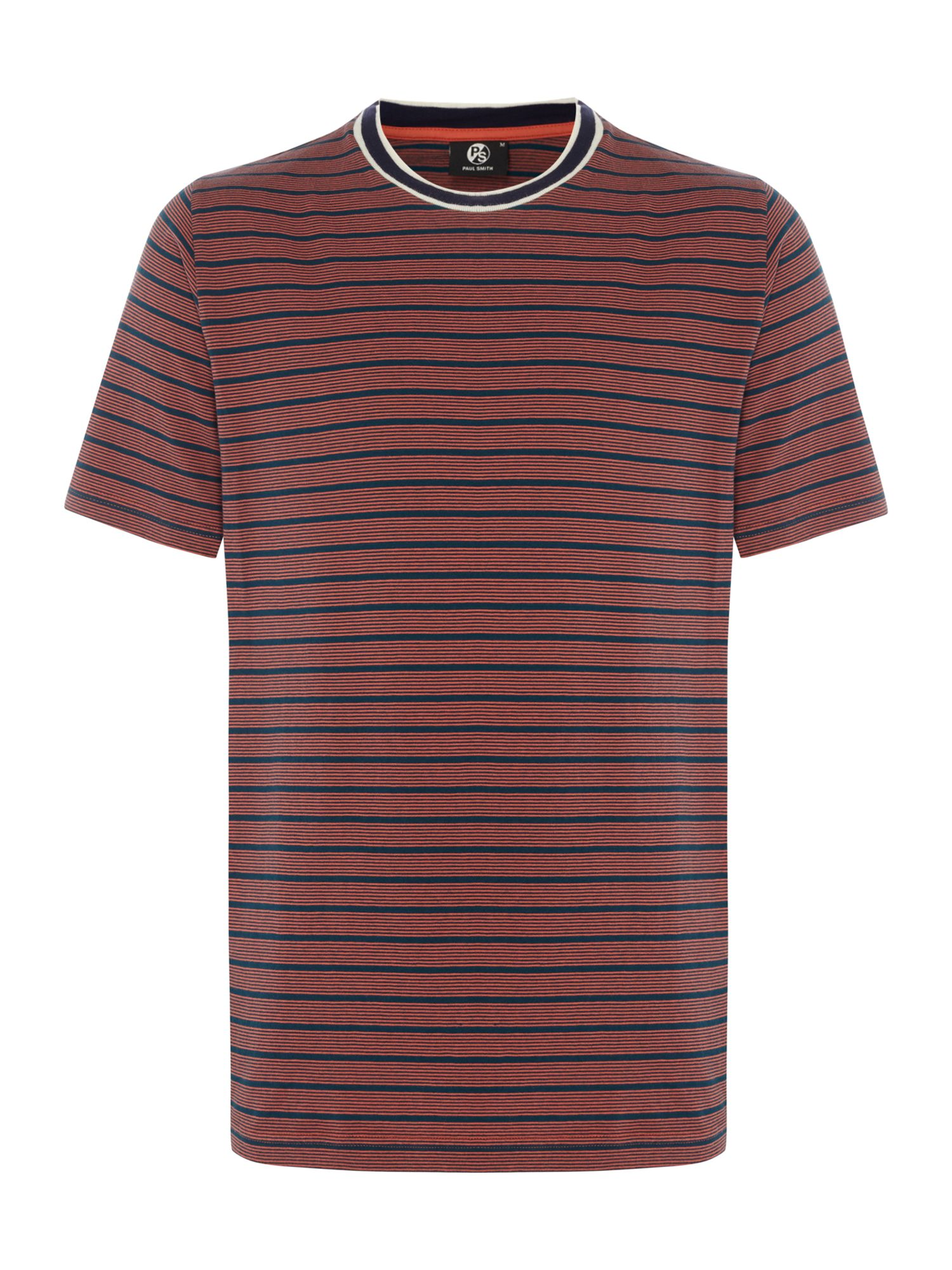 Men's PS By Paul Smith Navy stripe t-shirt, Blue