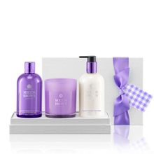 Molton Brown Vanilla & Violet Flower Body & Home Set