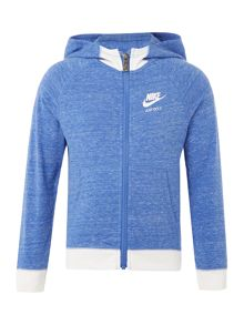 Nike Girls Zip Up Vintage Nike Hoodie