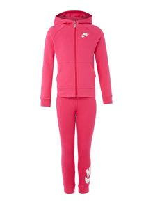 Nike Girls Futura Zip Up Hoody And Jogger