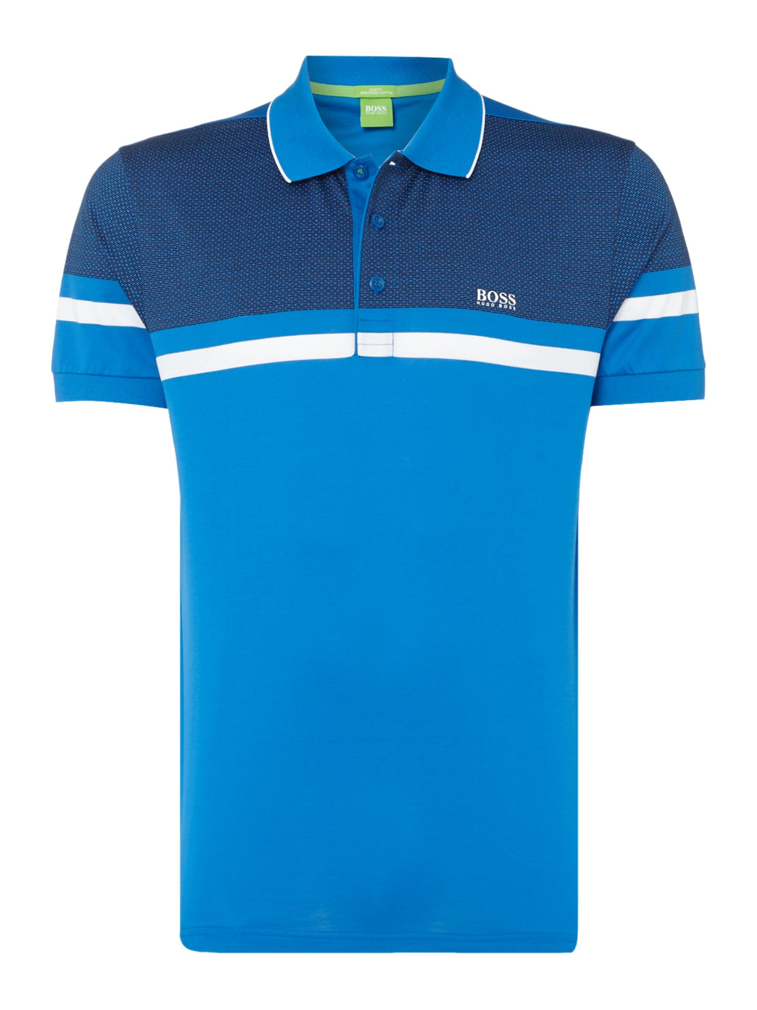 Men's Hugo Boss Paule Slim Fit Polo Shirt, Blue