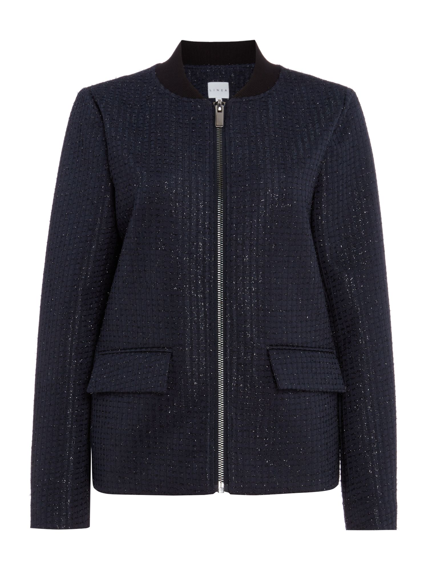 Linea Darcey bomber jacket, Blue