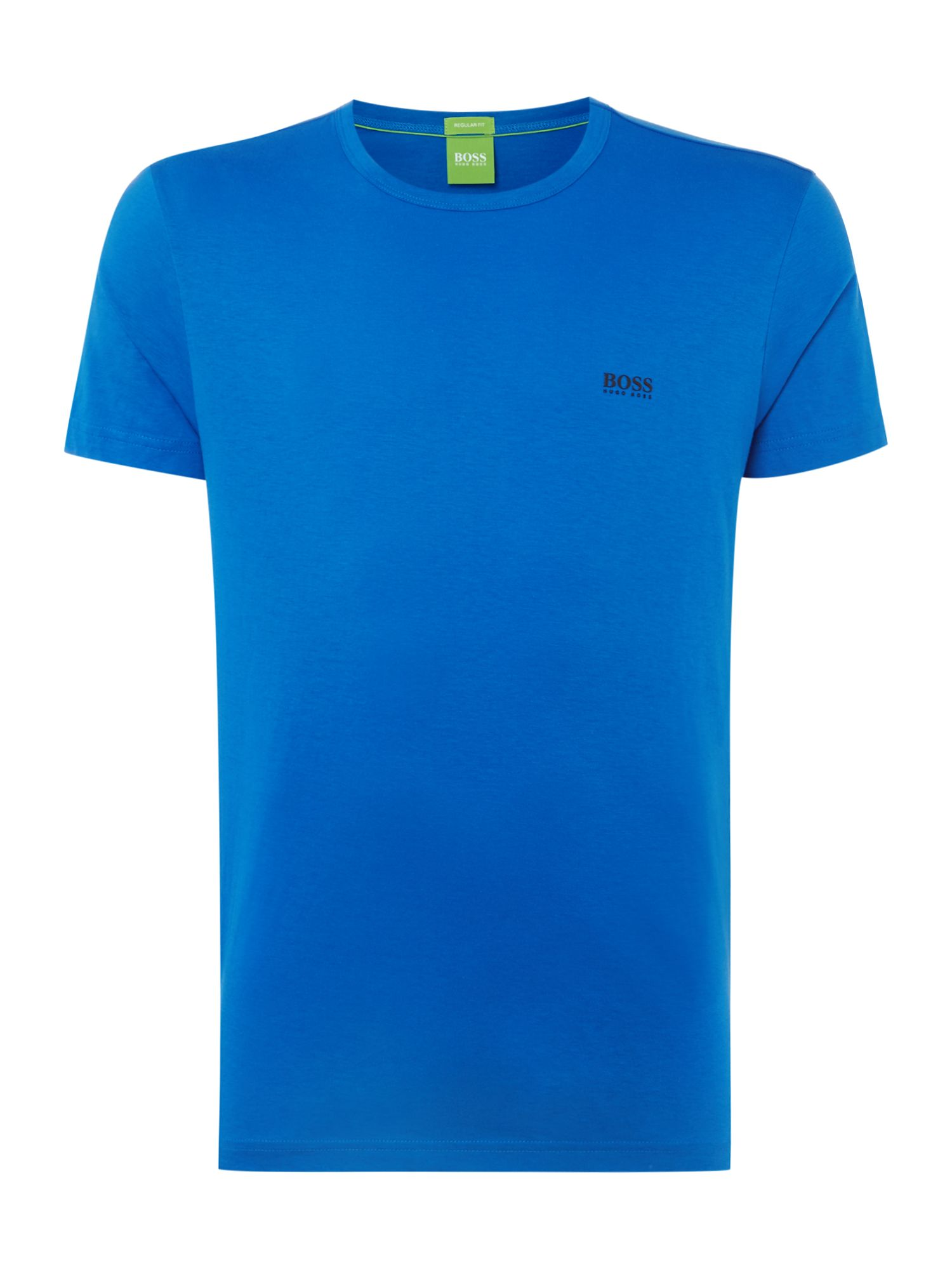 Men's Hugo Boss Crew Neck Regular Fit T-Shirt, Blue