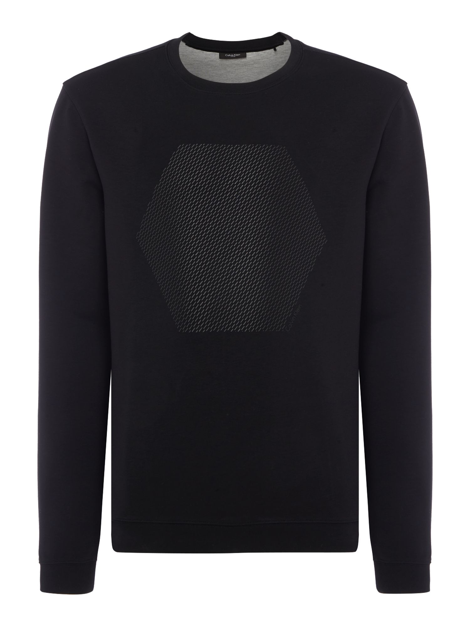 Men's Calvin Klein Kares Lightweight Sweater, Black