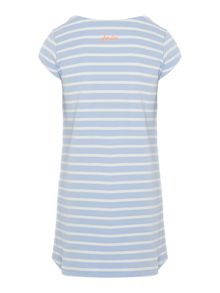 Joules Girls Stripe Short Sleeve Dress