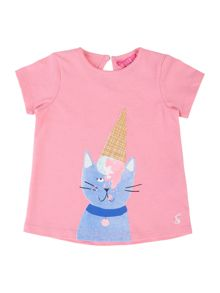 Joules Baby Girls Ice Cream T-Shirt