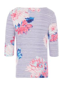 Joules Girls All Over Stripe Long Sleeve T-Shirt
