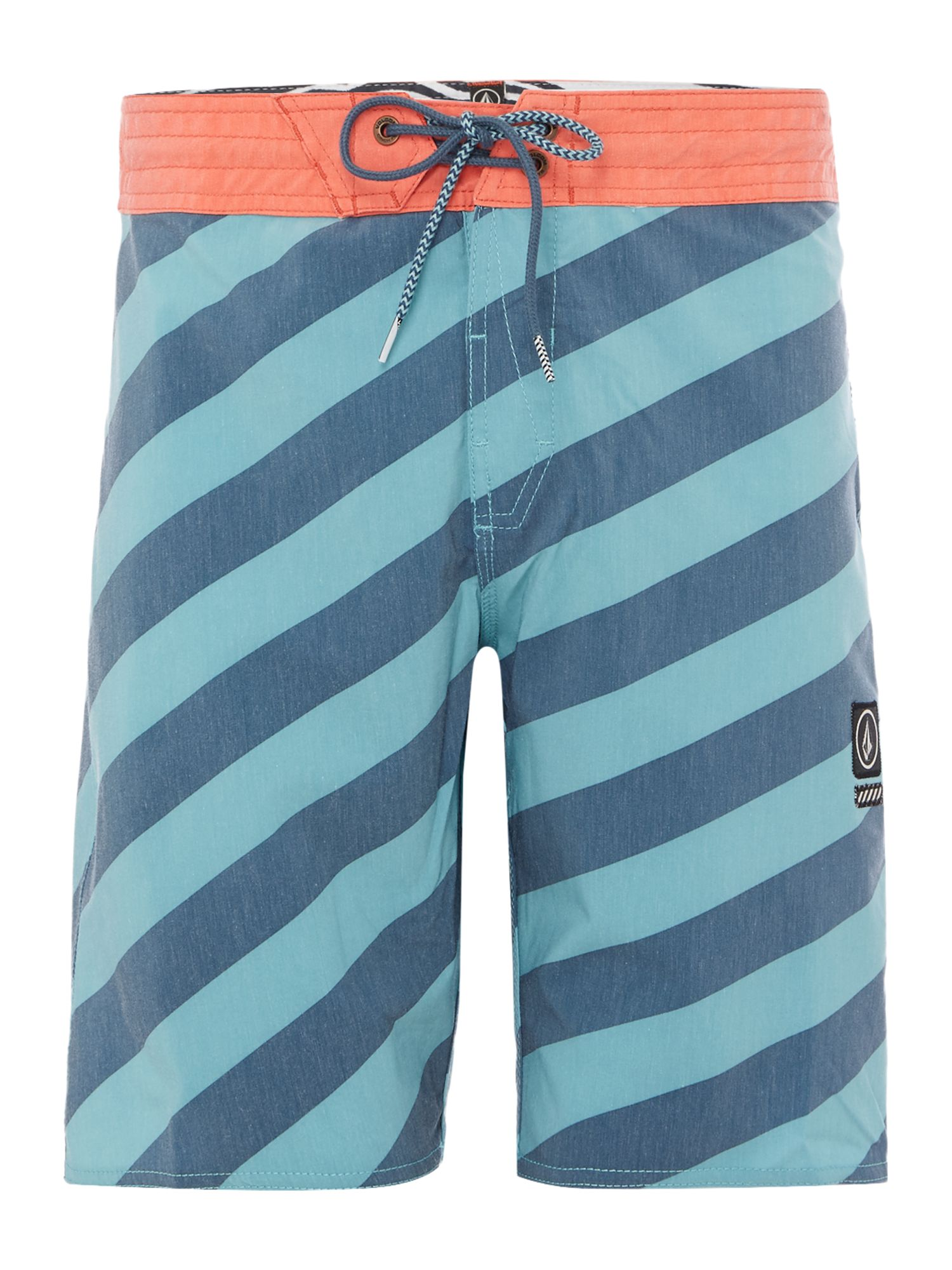 Men's Volcom 4-Way Stretch 19 Boardshort, Sea Blue