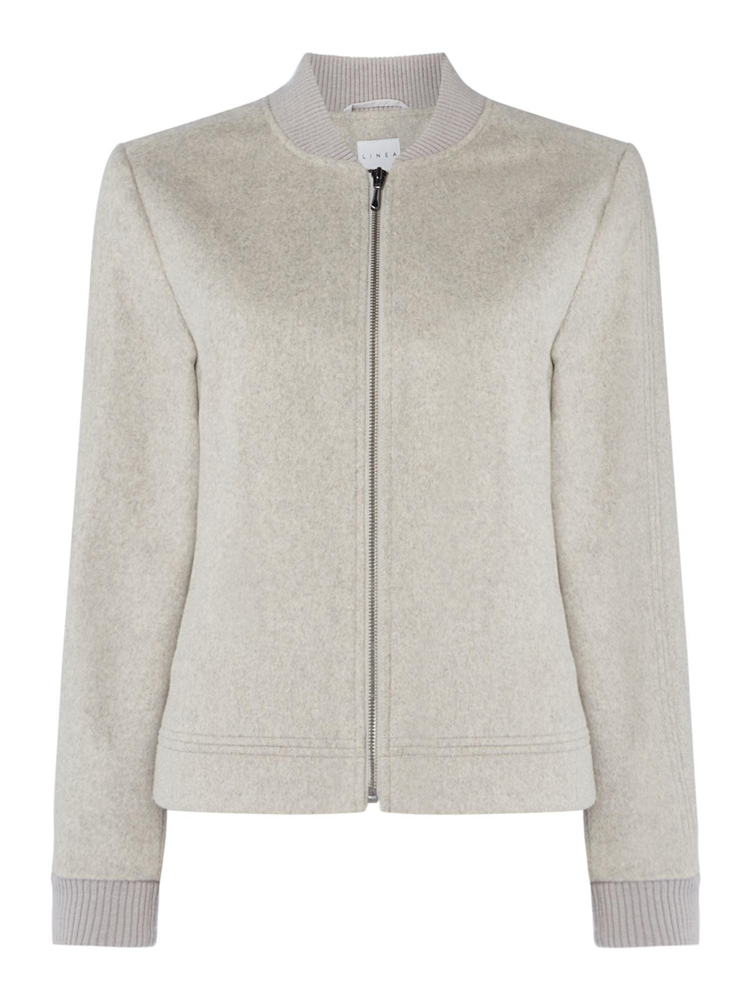 Linea Bobbi wool bomber, Grey