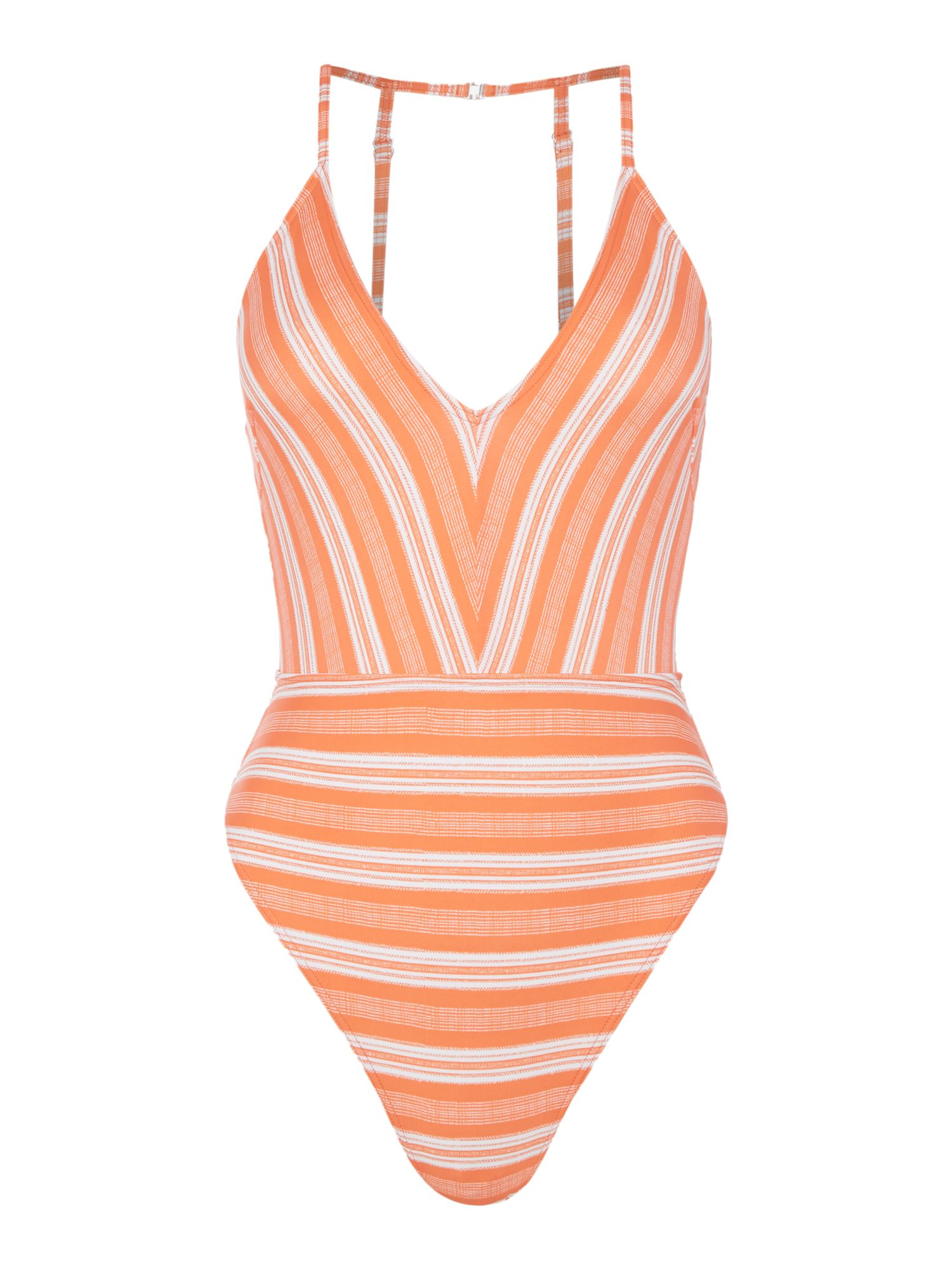 Mink Pink Haiti swimsuit, Coral