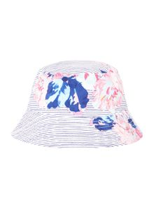 Joules Girls Floral Reversible Bucket Sun Hat