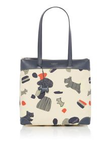 Radley Dash dog large zip top tote