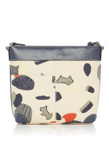 Radley Dash dog medium zip top crossbody