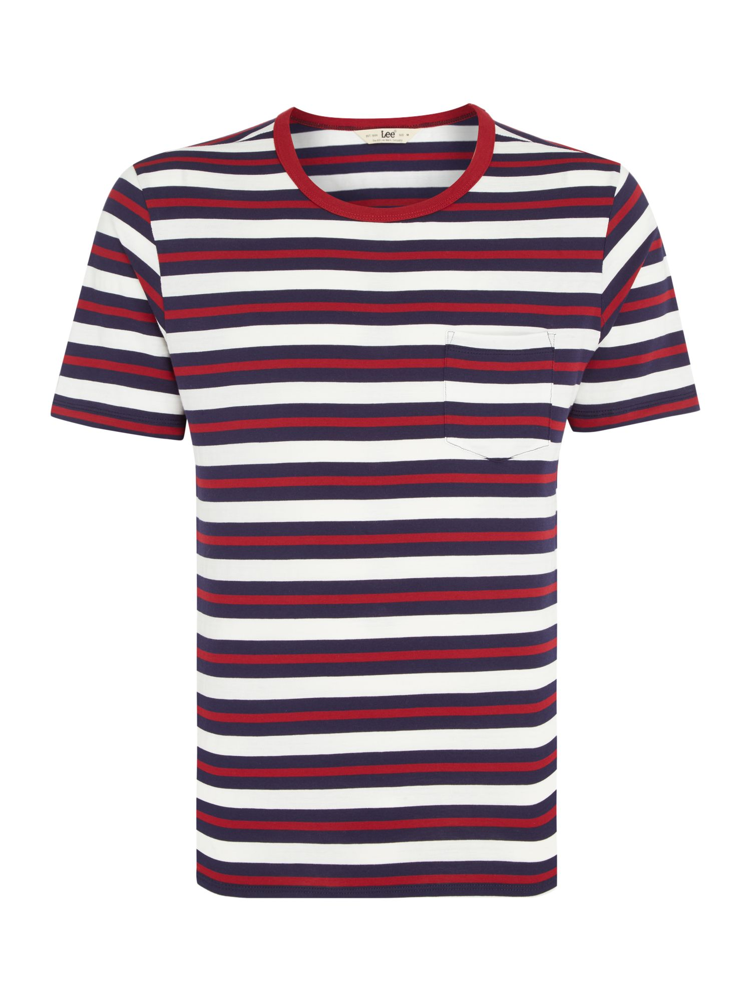 Men's Lee Stripe t-shirt, Blue
