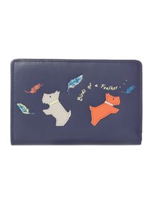 Radley Birds of a feather medium zip purse