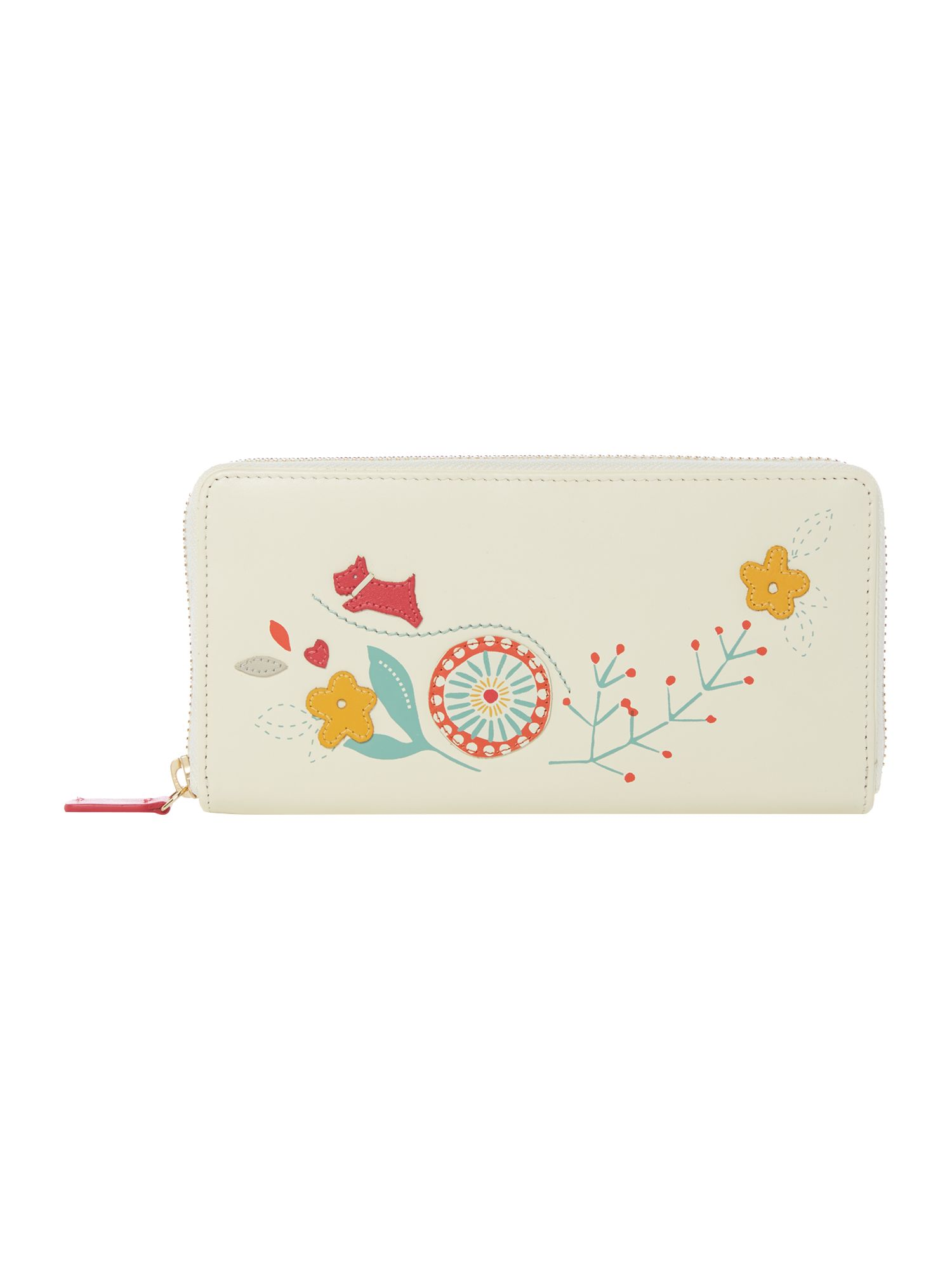 Radley Springtime zip around matinee purse Ivory