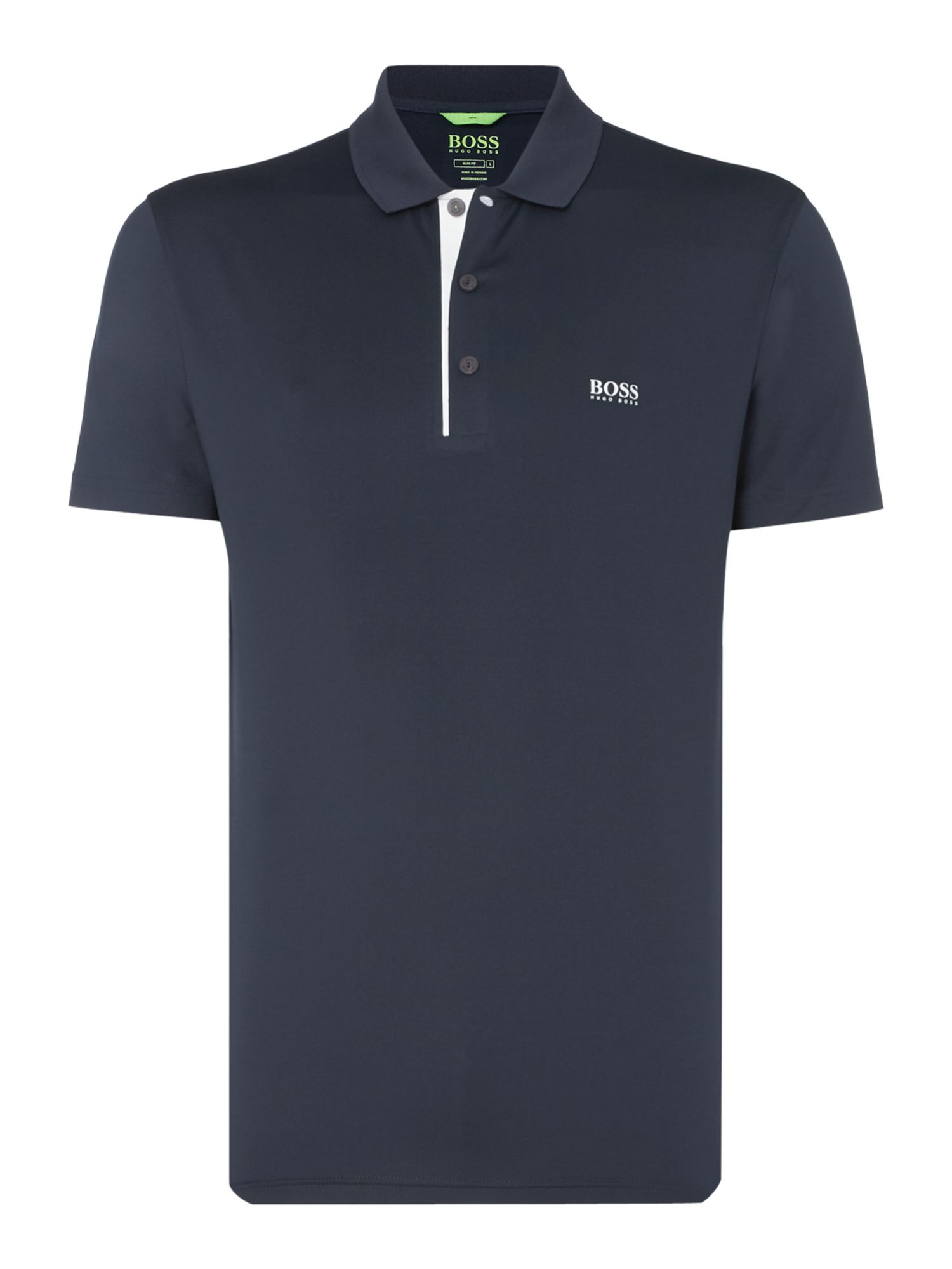 Men's Hugo Boss Pavotech slim fit technical polo, Blue