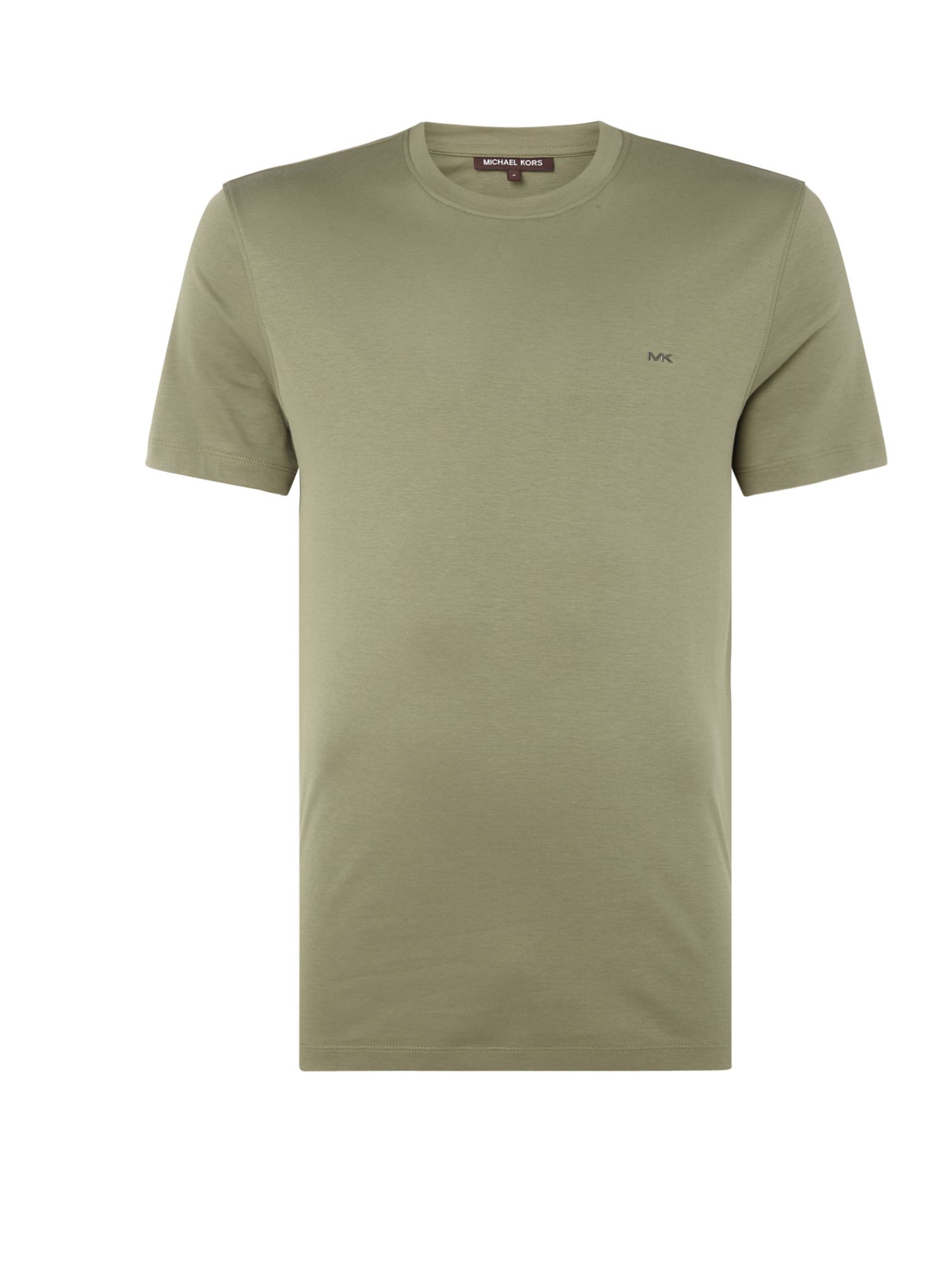 Men's Michael Kors Sleek Crew Neck T-Shirt, Green