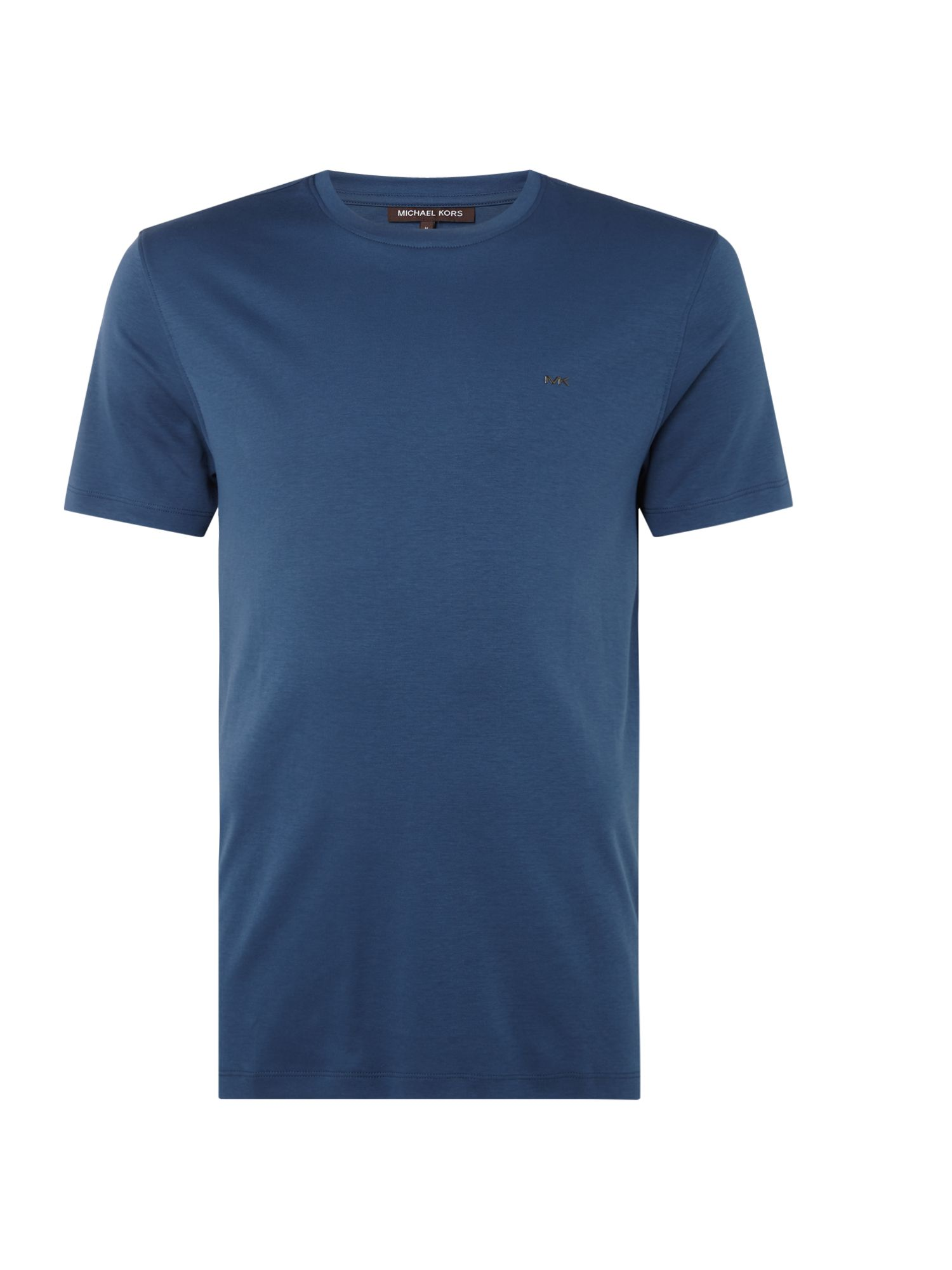 Men's Michael Kors Sleek Crew Neck T-Shirt, Blue