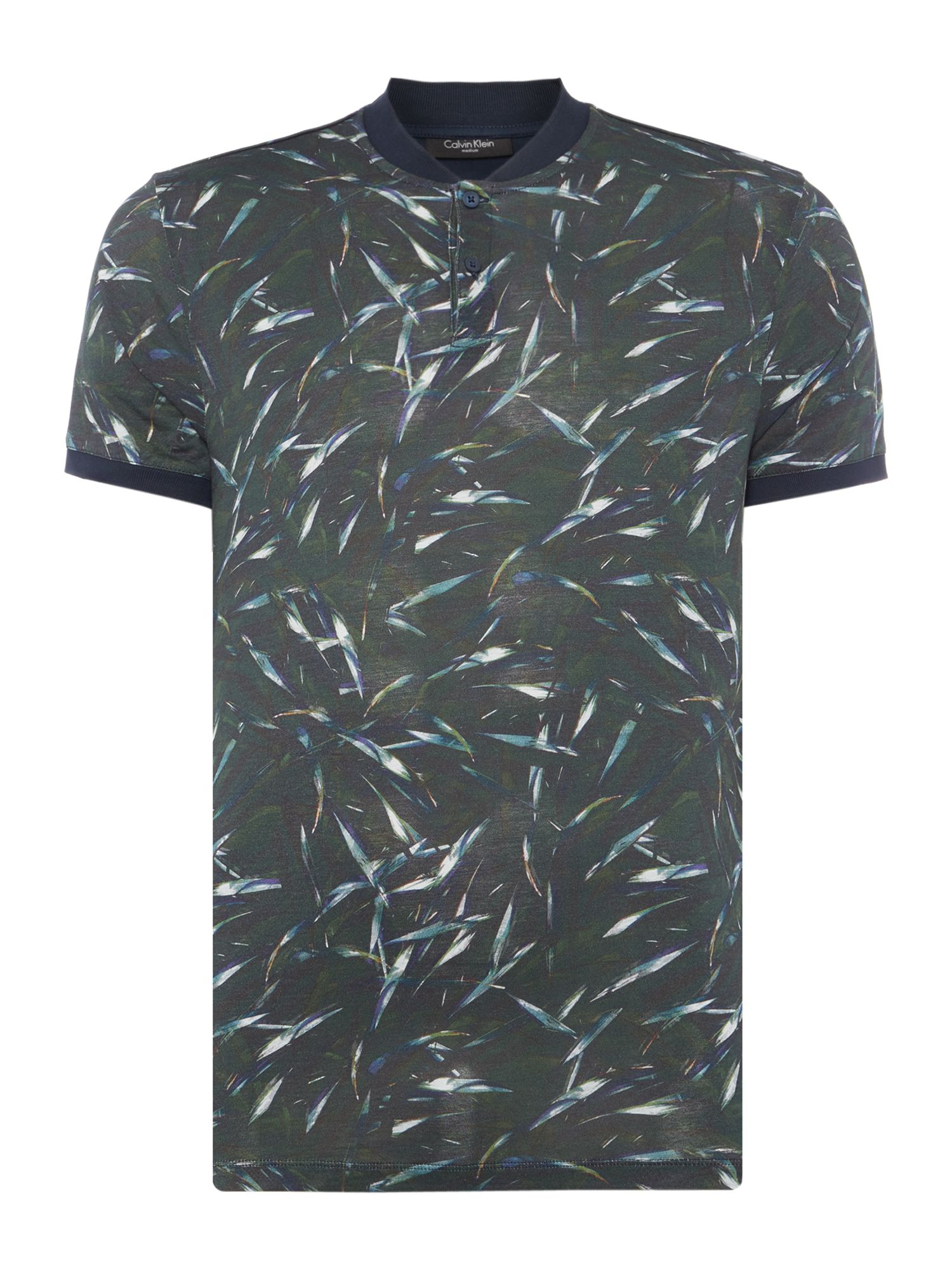 Men's Calvin Klein Jalef Digital Print T-shirt, Green