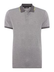 Calvin Klein Jacob Pique Chest Polo Top