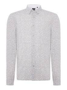 Calvin Klein Galen Hexagon Print Shirt