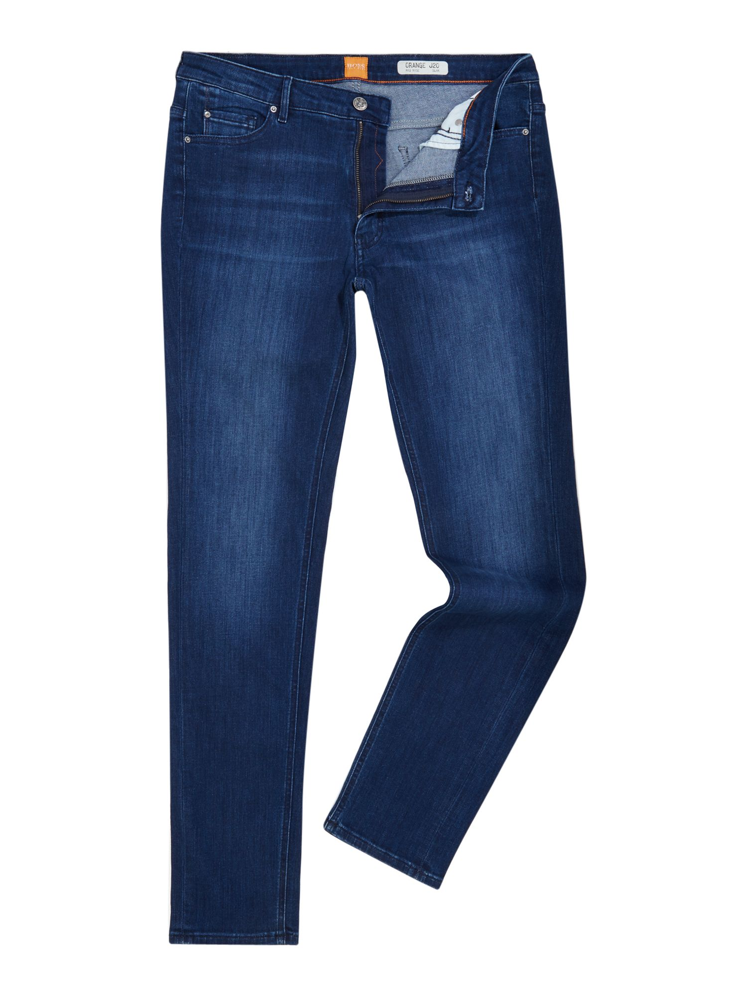 Hugo Boss Orange J20 Skinny Jean in Navy, Blue