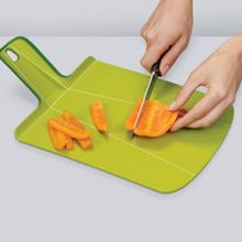 Joseph Joseph Chop2Pot Chopping Board, Green, Large